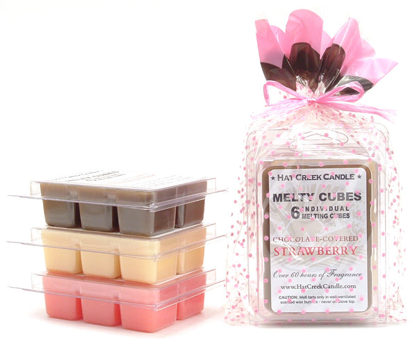 3pk Melty Cube Scented Wax Melts: Sweet Temptations