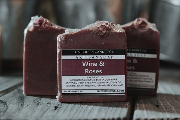 Artisan Soap:  Wine & Roses