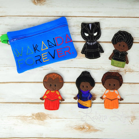 Finger Puppets - Panther
