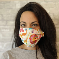 Premium Cotton Face Mask - Safari