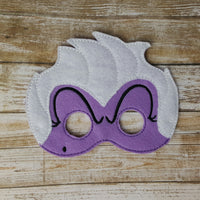 Little Mermaid Masks
