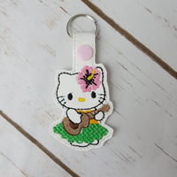Friendly Kitty Keychains
