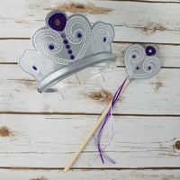 First Princess Crown and Wand