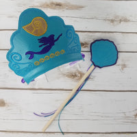 Mermaid Crown and Wand