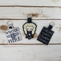 Throne Key Chains
