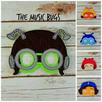 Music Bugs Masks