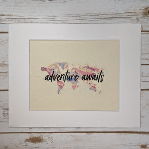 Adventures Await Stitches of Art