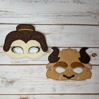Beauty Princess Masks