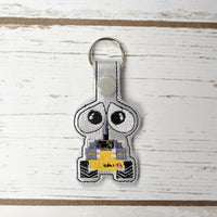 Recycling Robots Key Chains