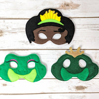 Frog Princess Masks