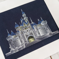 Just Another Castle Stitches of Art
