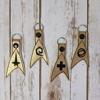 Star Exploration Key Chains