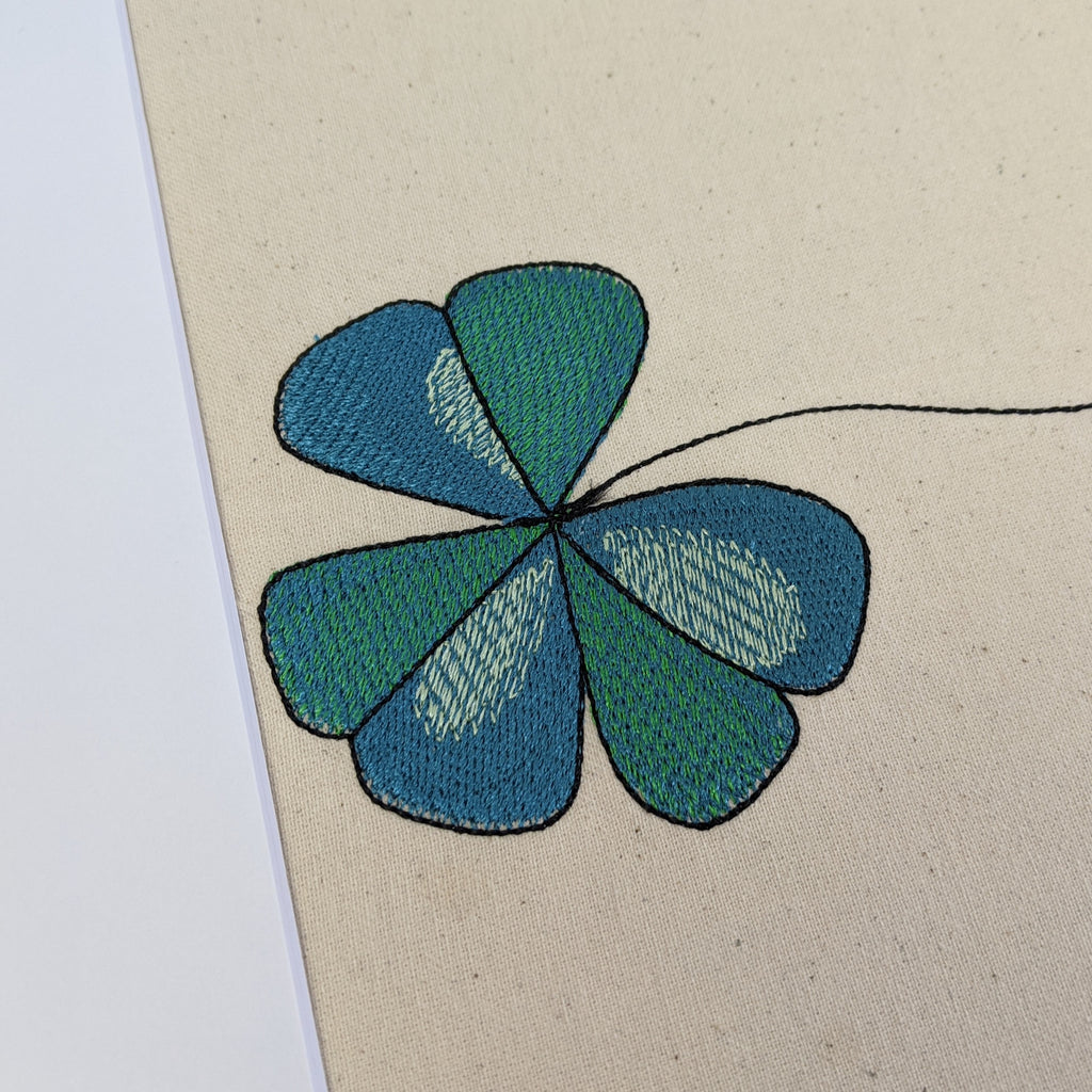 Lucky Shamrock Art