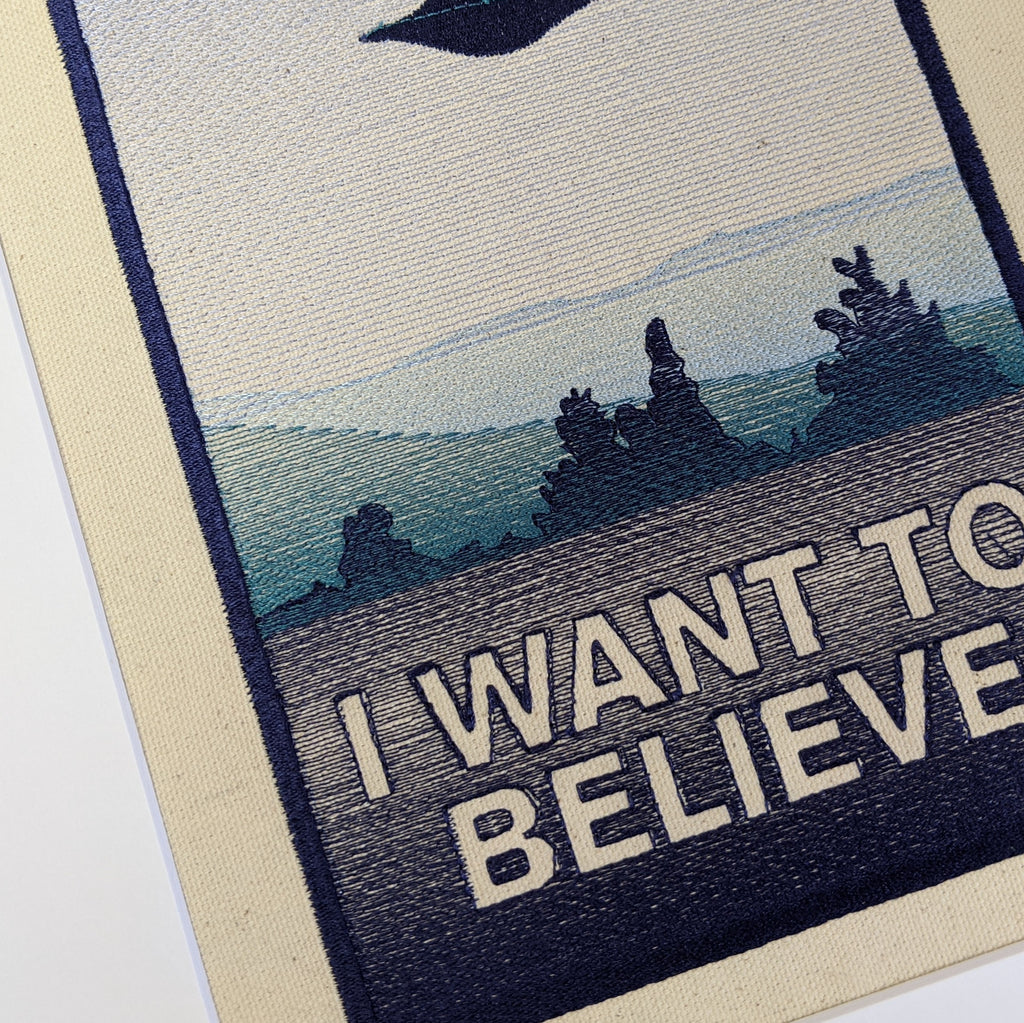 I Want to Believe Art
