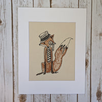 Mr. Fox Stitches of Art