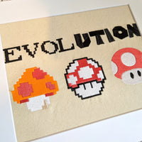 Game Evolution Stitches of Art