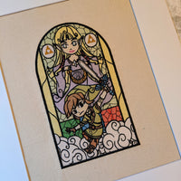 Stained Glass Stitches of Art