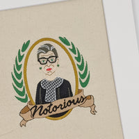 Notorious RBG Stitches of Art