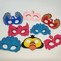 Tropical Animal Masks