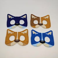 Dingo Dog Family Masks