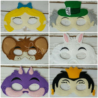 Wonderland Masks