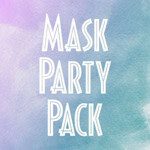 Felt Masks Party Pack