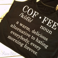 Definition of Coffee tank