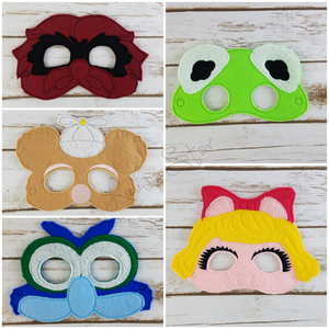 Baby Animals Masks