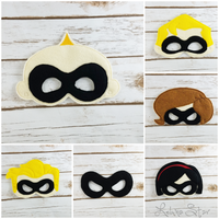 Superhero Family Masks