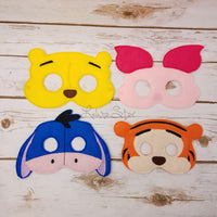 Honey Bear Masks