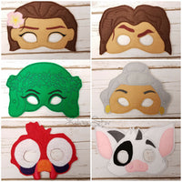 Island Princess Masks