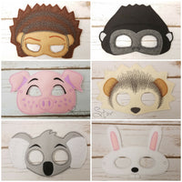 Singing Animals Masks