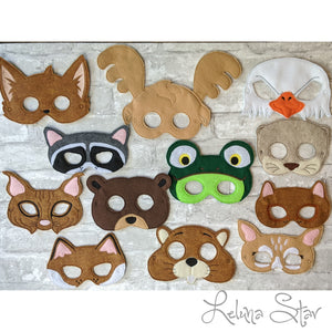 Forest Animal Masks
