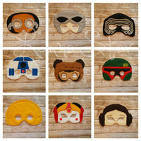 Out of this World Masks