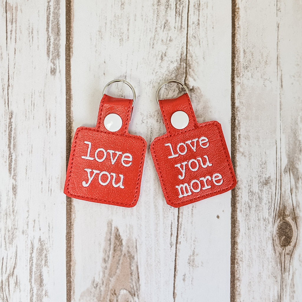 Love You -Love You More- Key Chain Set