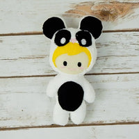 Panda Kid Stuffie