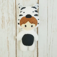 Zebra Kid Stuffie