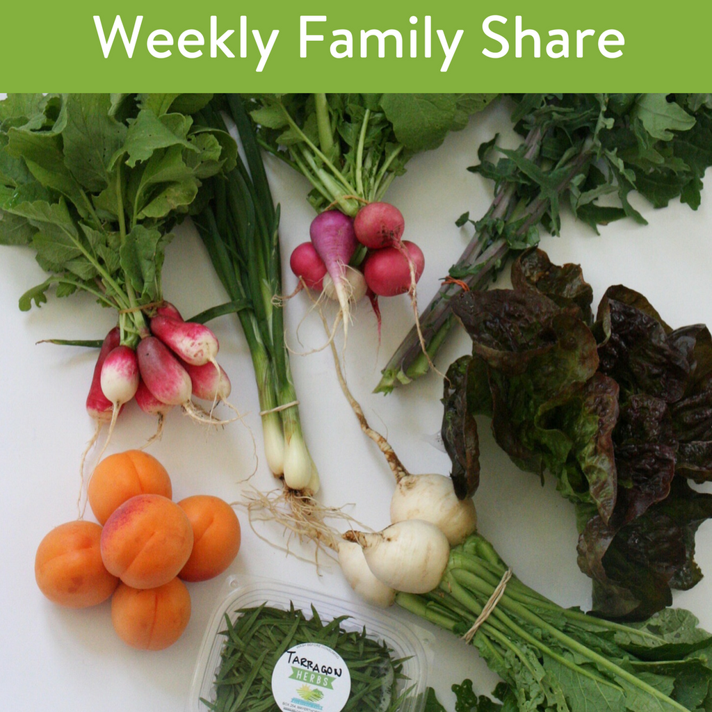 Weekly Family Veggie Share