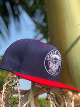 Load image into Gallery viewer, OCApparel Navy/Red/White Snapback