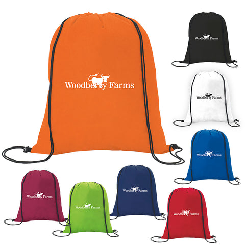 15660 - Non-Woven Drawstring Backpack