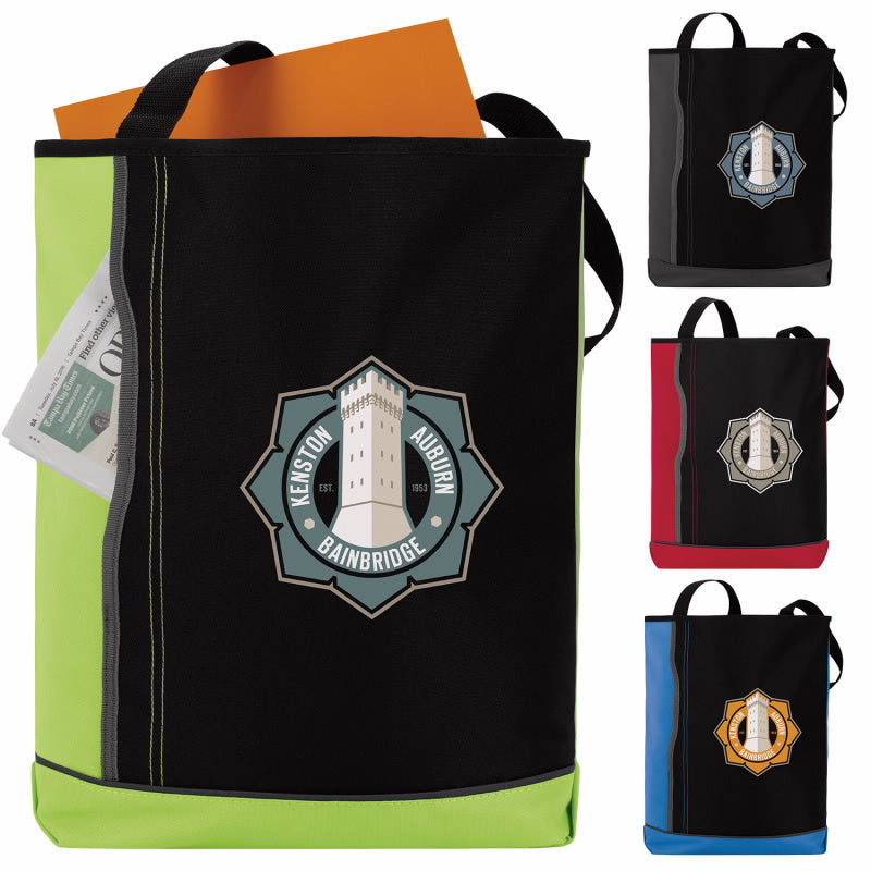 15844 - Vertical Pocket Tote