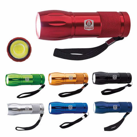 21207 - Mini Aluminum COB Flashlight