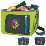 15707 - KOOZIE® Sporty Six-Pack Kooler