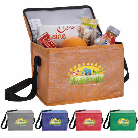 15922 - Non-Woven Shimmer Lunch Cooler