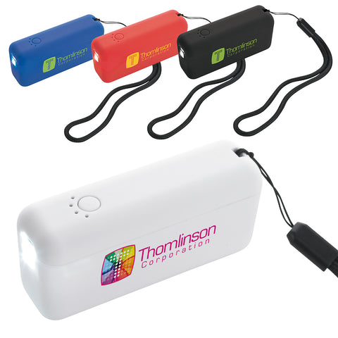 32036 - Trim Power Bank Flashlight 2200 mAh