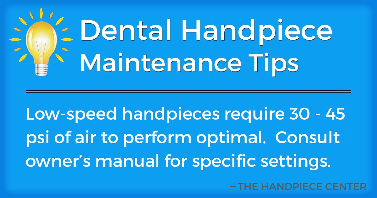 Thursday Tip # 10 by The Handpiece Center