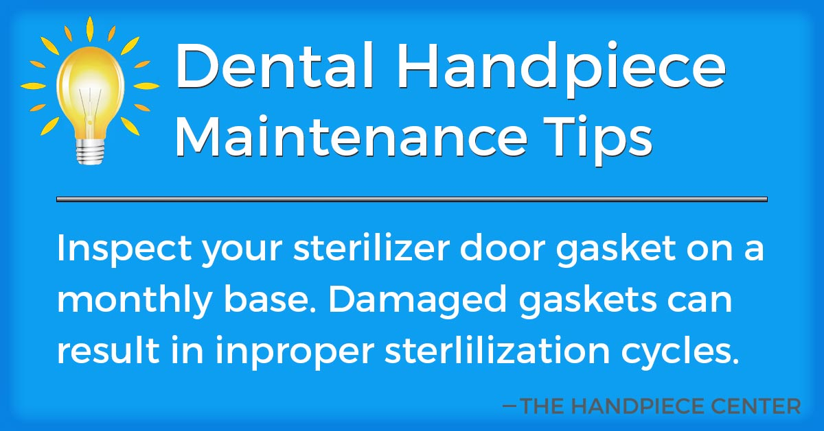 Thursday Tip # 13 by The Handpiece Center