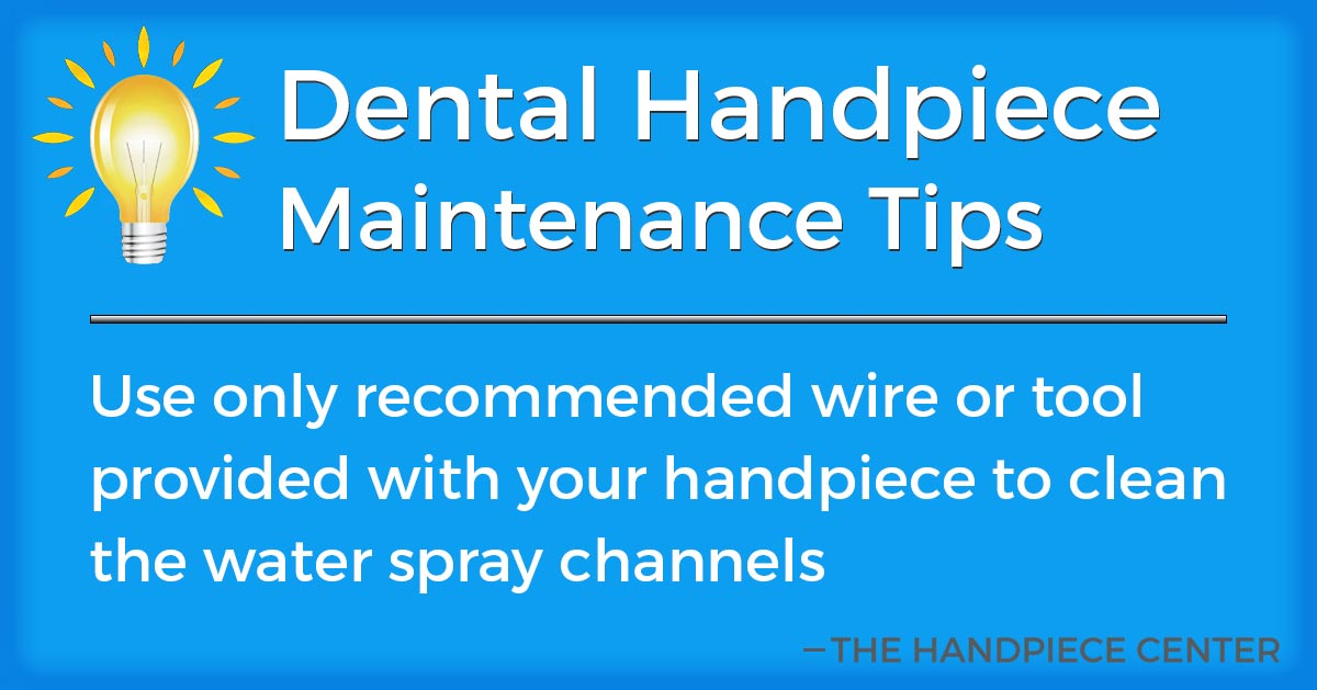 Thursday Tip # 19 by The Handpiece Center