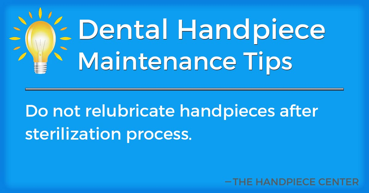 Thursday Tip # 20 by The Handpiece Center