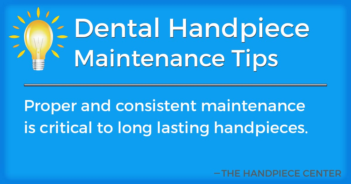Thursday Tip # 23 by The Handpiece Center